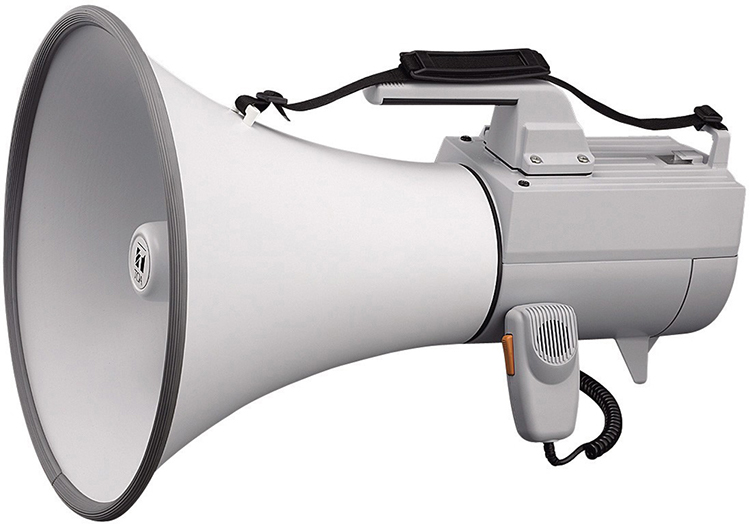 ER-2230W Shoulder Type Megaphone with Whistle
