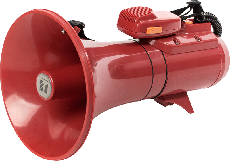 ER-2215S Shoulder Type Megaphone with Siren Signal