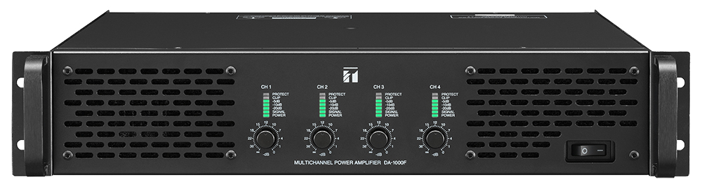 DA-1000F Multichannel Power Amplifier