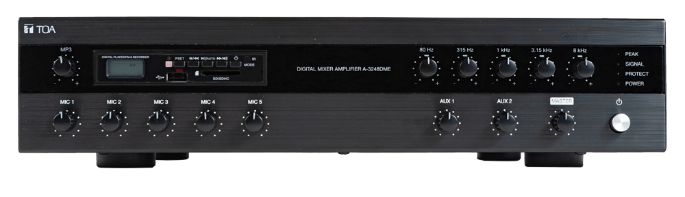 A-3248DME Digital Mixer Amplifier with MP3 and EQ