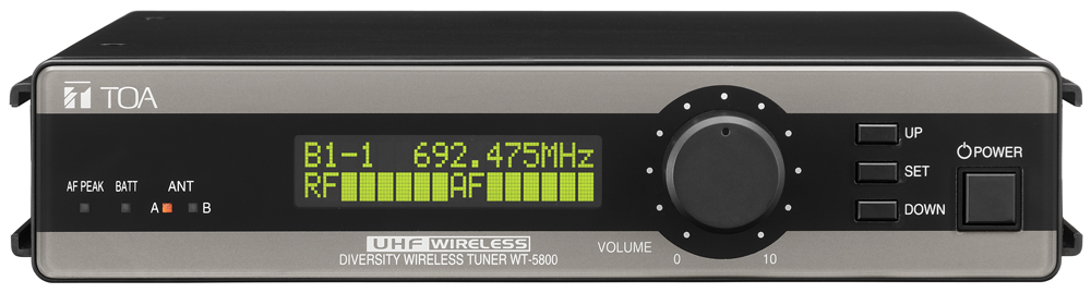 WT-5800 UHF Wireless Tuner