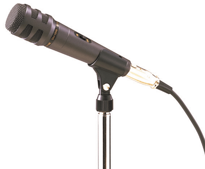 DM-1200 Unidirectional Microphone